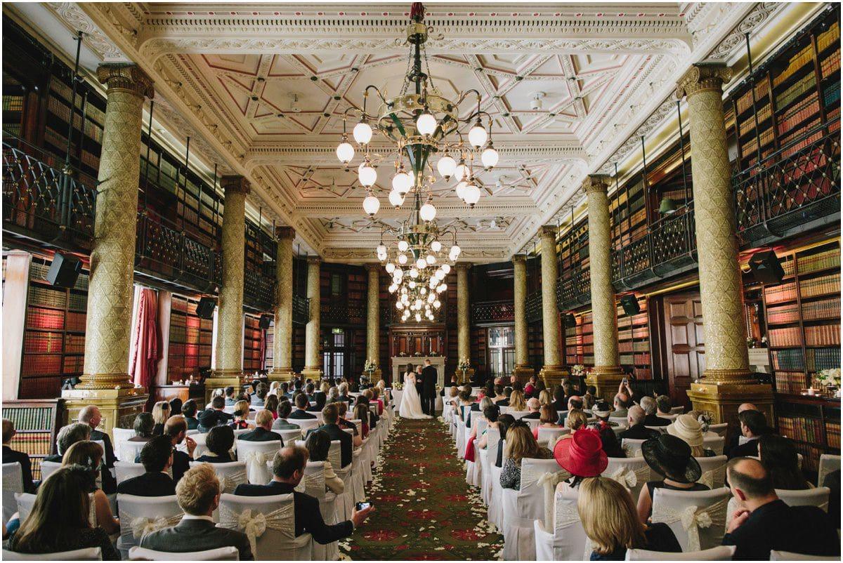 Gladstone Library Wedding Royal Horseguards Wedding