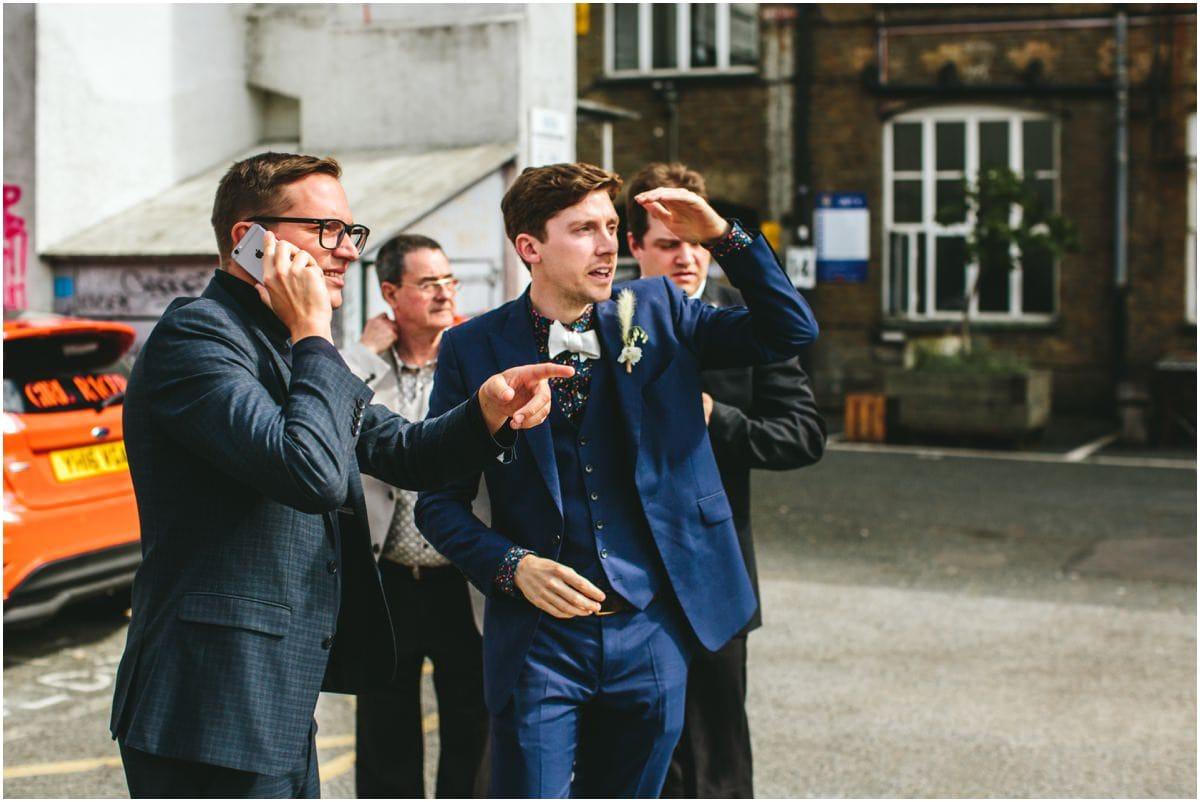 Hackney wick wedding photography