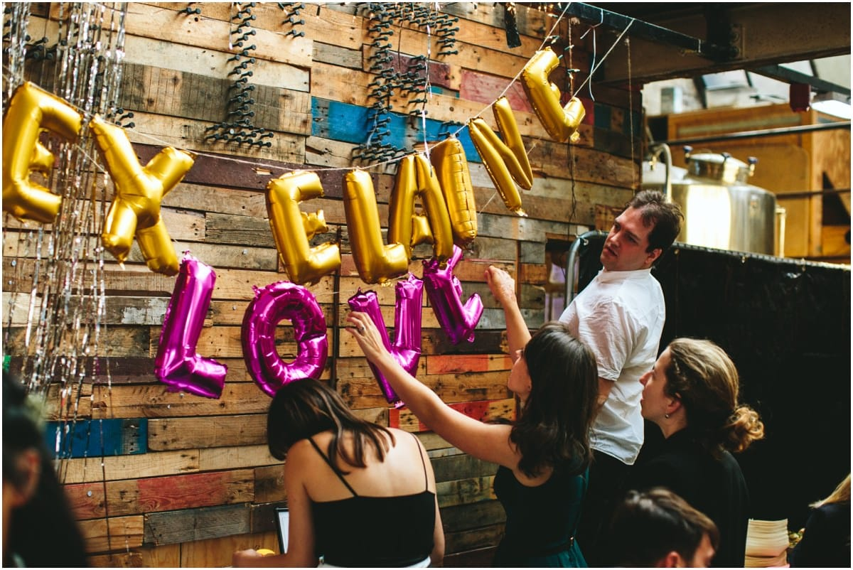 crate brewery wedding photography