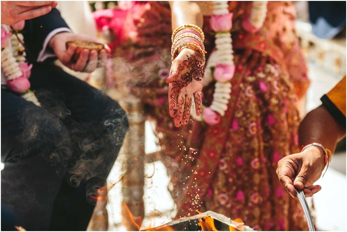 Indian fusion wedding photography