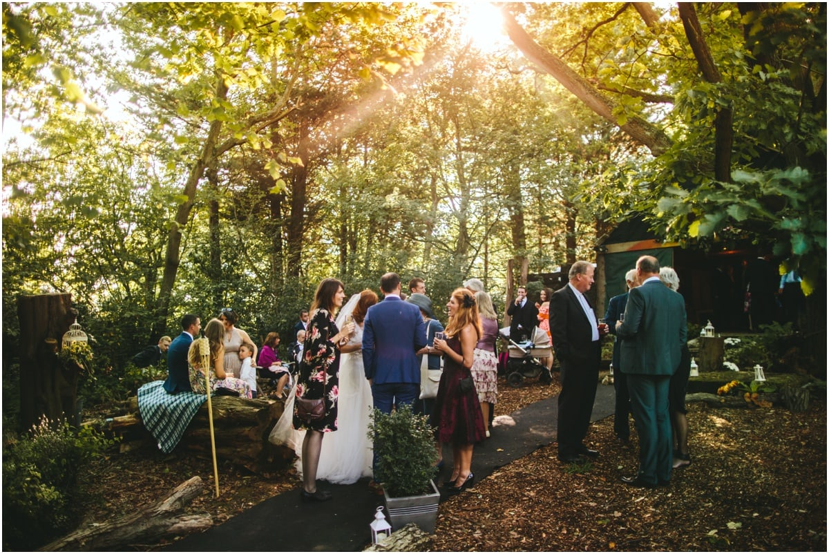Forest Wedding Kent