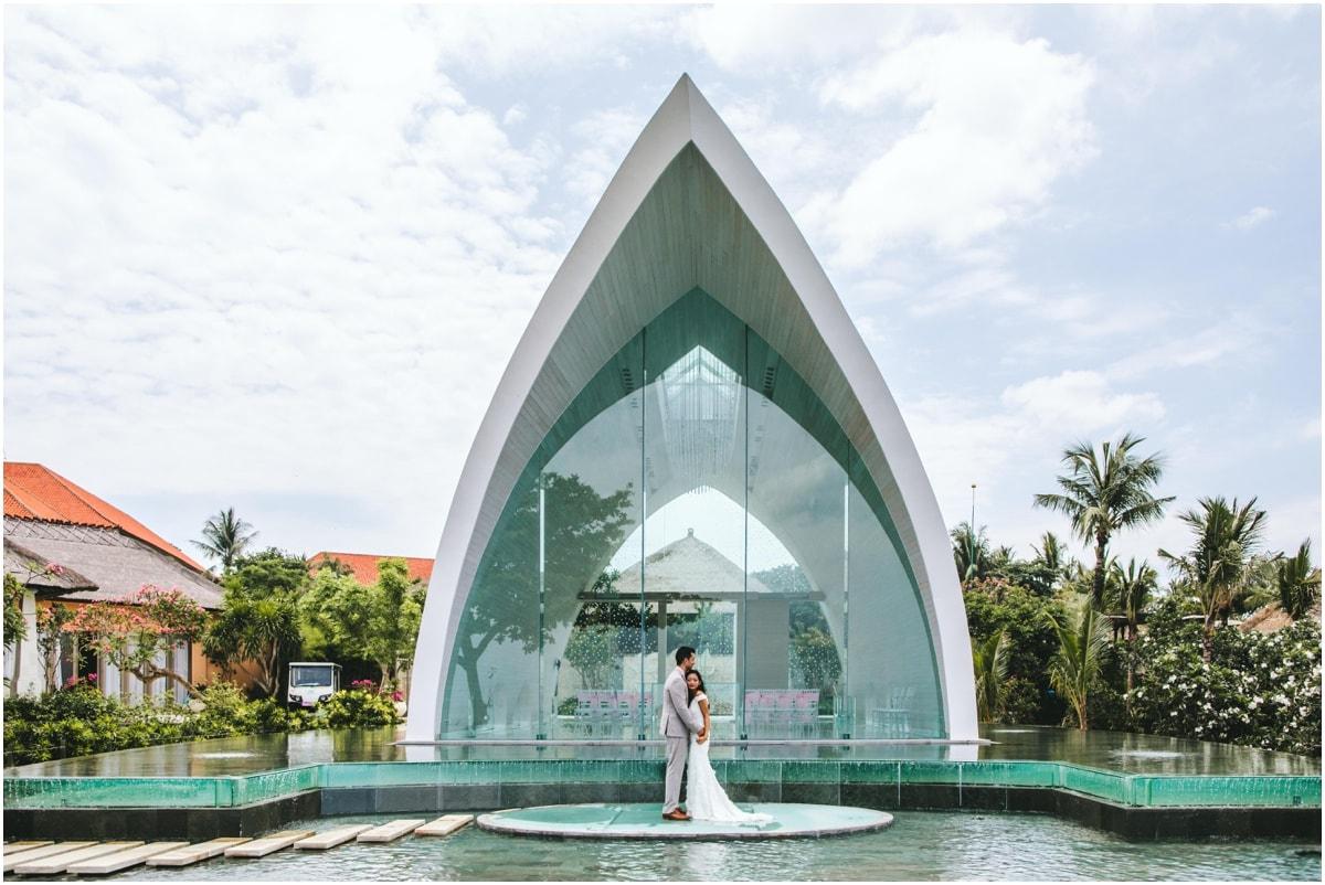 Ayana Resort tresna chapel