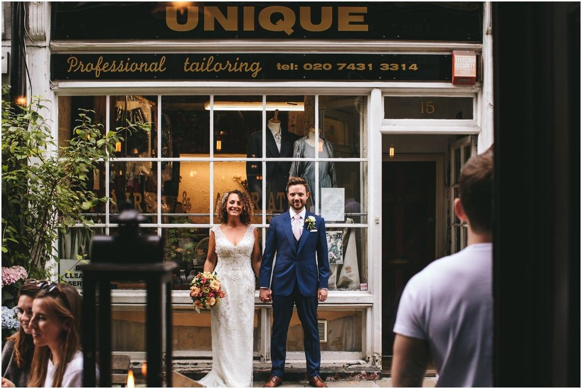 bush hall london wedding photography