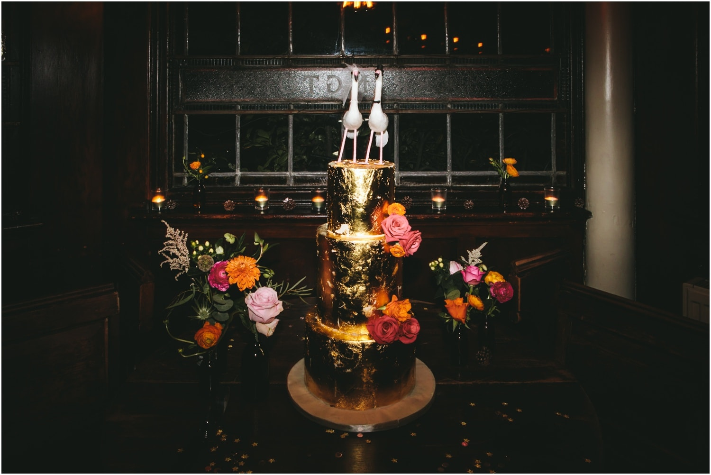 creative camden wedding