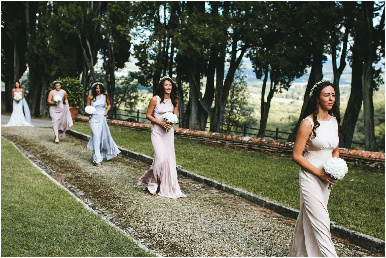Vineyard wedding tuscany