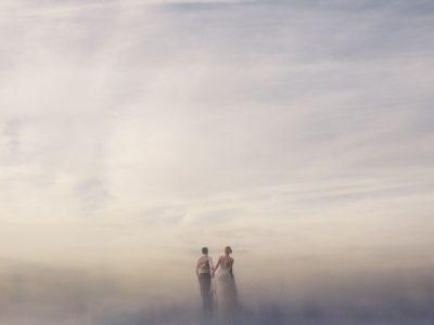 amazing sunset wedding photos